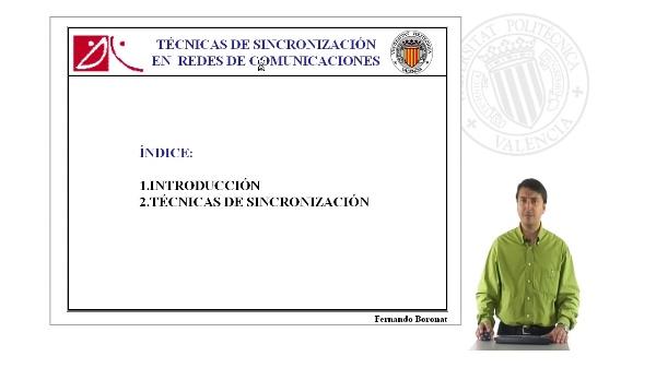 Técnicas de sincronización en redes de comunicaciones