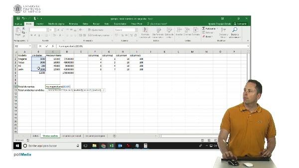 Excel sumaproducto()