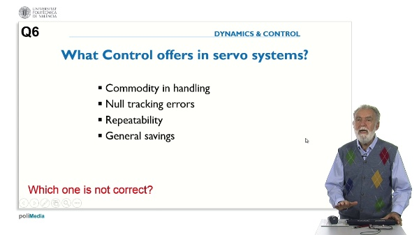 Control Benefits. Answer 6