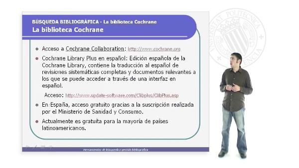 La Biblioteca Cochrane