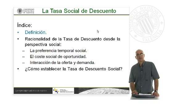 La Tasa de Descuento Social. Descripción