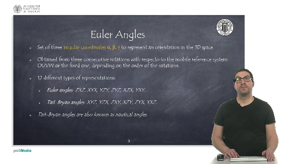 Robotic systems. Euler angles.