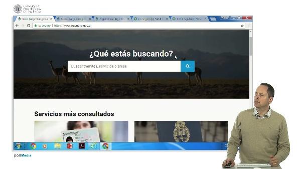 Buscar en Internet. Información administrativa Argentina y Uruguay