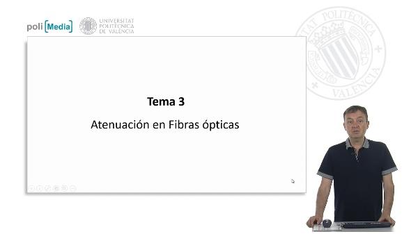Atenuación en Fibras Ópticas