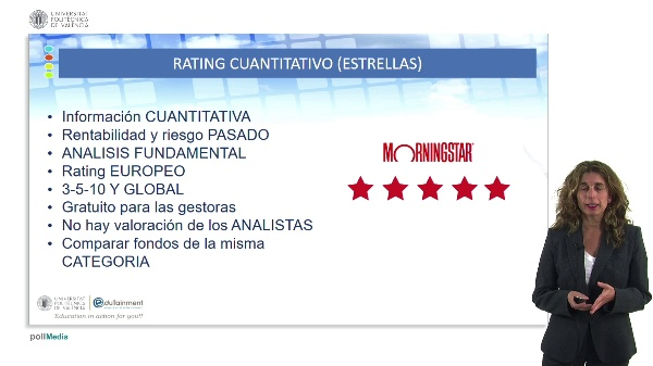 RATINGS Y ANÁLISIS DE DE FONDOS DE INVERSIÓN