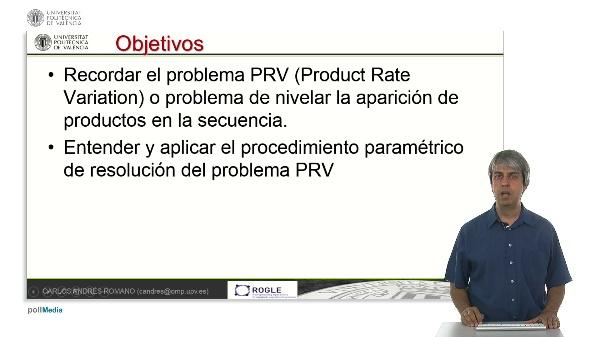 Un procedimiento paramédico para resolver el problema PRV