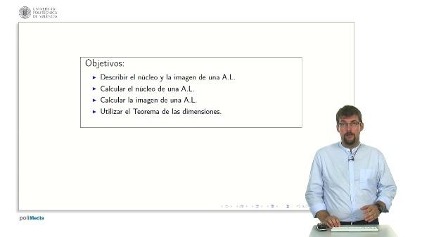 Nucleo e Imagen de una Aplicacion Lineal