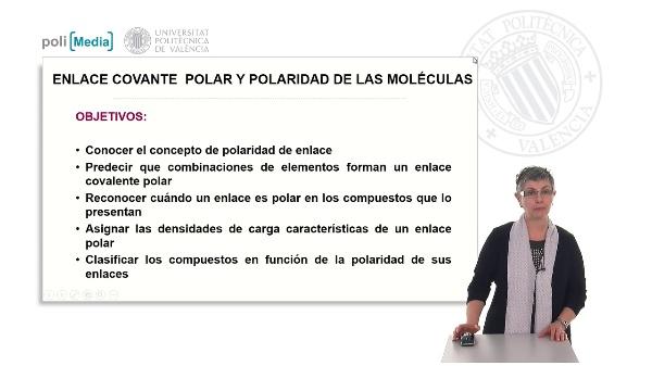 Enlace covalente polar y polaridad de las moléculas