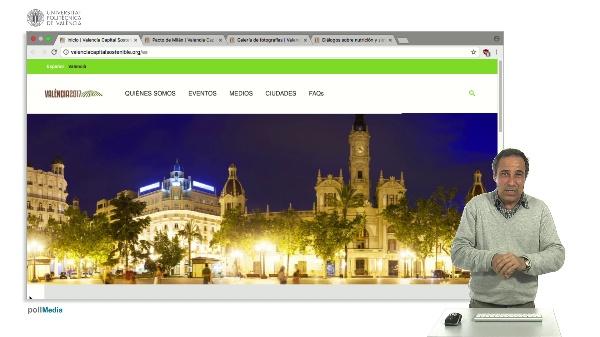 Presentación Valencia Capital Mundial de la Alimentación Sostenible 2017