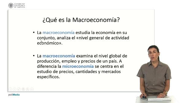¿Qué es la macroeconomía?