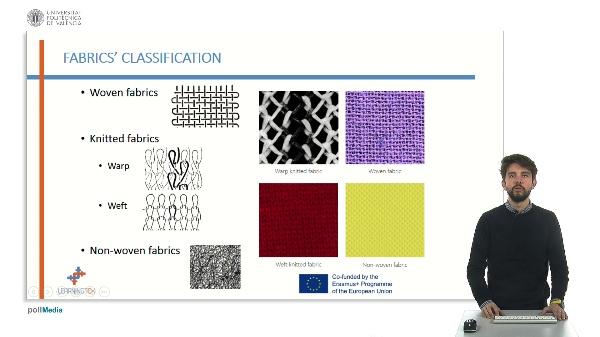 Characteristics and singularities of woven fabrics