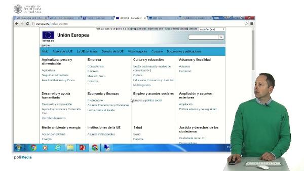 Información sobre la Unión Europea
