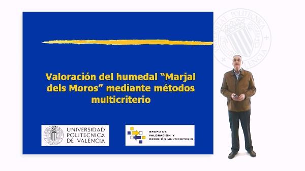 Valoración del humedal Marjal dels Moros