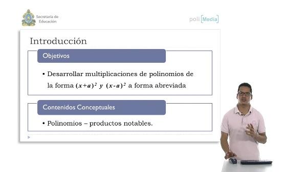 Productos de la forma (x+a)^2 y (x+b)^2