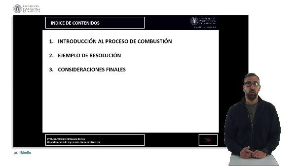 CÁLCULO DEL AIRE ESTEQUIOMÉTRICO Y PORCENTAJE DE EXCESO EN UN PROCESO DE COMBUSTIÓN