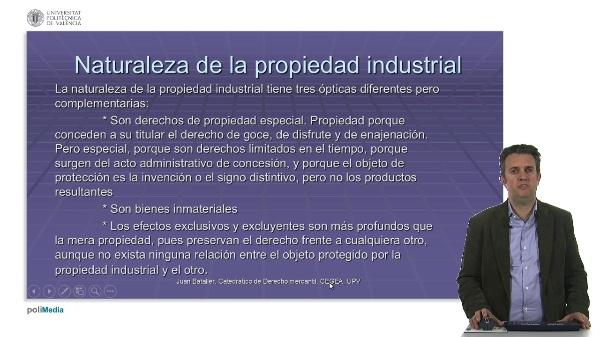 Marco conceptual: Propiedad Industrial