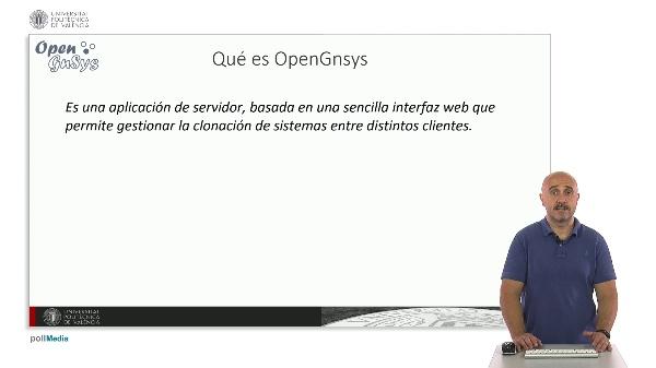 El proyecto OpenGnsys