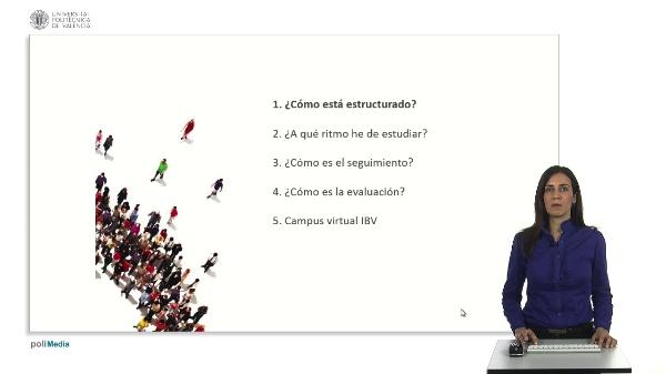 CAMPUS VIRTUAL IBV. Metodología docente y forma de estudio.