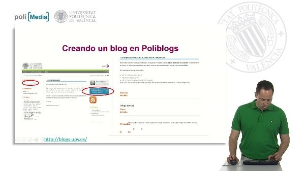 Gestionar un blog con Poliblogs