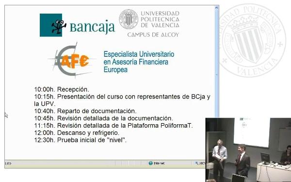 Sesion Inaugural Bancaja 08