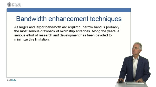 Microstrip Antennas - Bandwidth enhancement