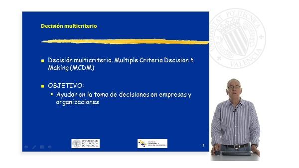 Teoría de la Decisión Multicriterio