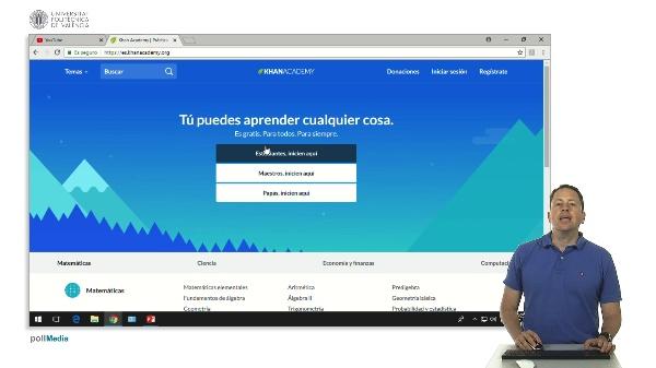 Khan Academy, la web