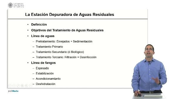 La Estación Depuradora de Aguas Residuales (EDAR)