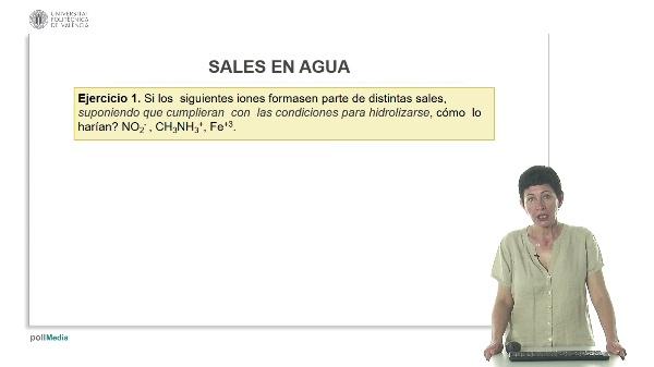 Lección 2. Las sales en agua (ejercicios).