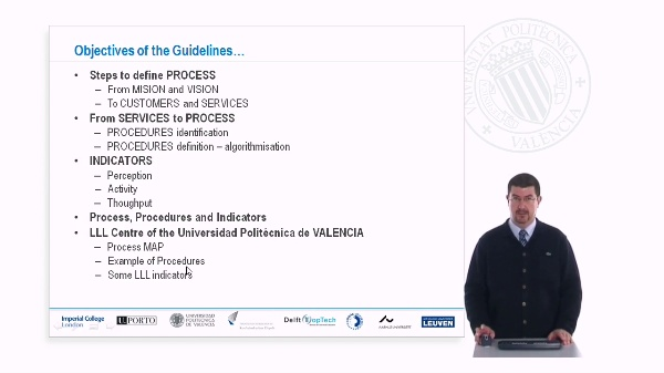 Process, Procedures and Indicators in LLL Management