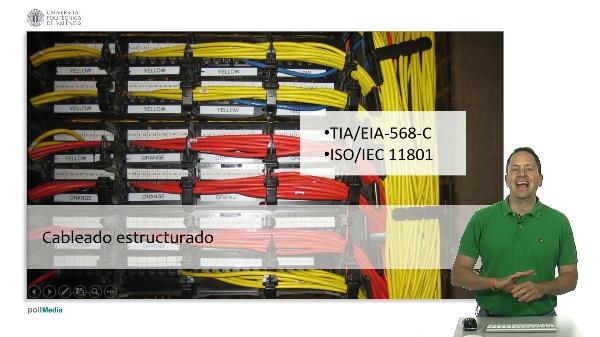 Redes de ordenadores. Redes cableadas II. Cableado estructurado