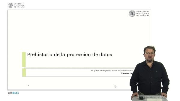 Prehistoria de la protección de datos