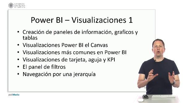MOOC Power BI. Índice tema visualizaciones 1