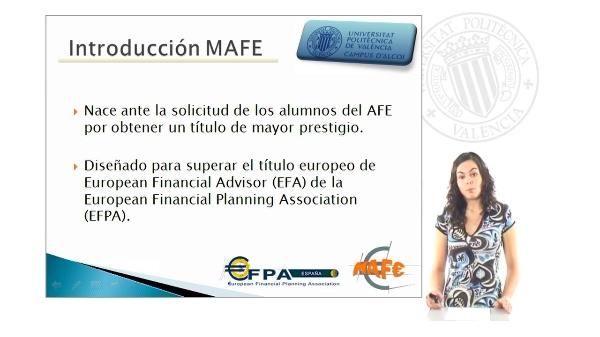 Presentación AFE-MAFE