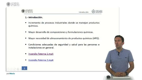 Almacenamiento de productos químicos. Introducción