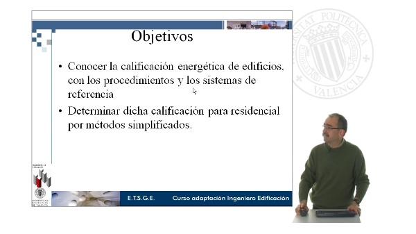 T8. Calificación energética. Procedimientos