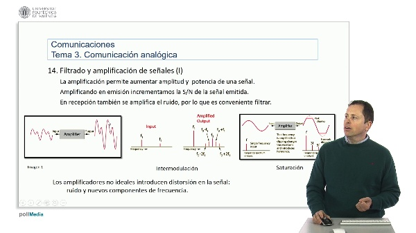 Introducción a las radiocomunicaciones. Amplificación de señales