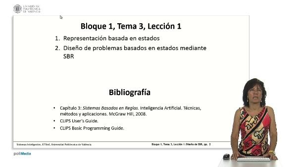 Tema 3, Lección 1: Diseño de problemas basados en estados mediante SBR