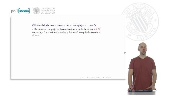 Números Complejos: Inverso de un número complejo