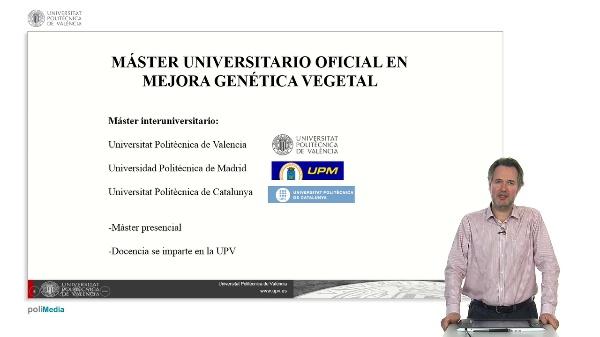 Master Universitario en Mejora Genetica Vegetal