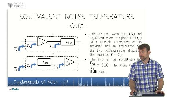 Fundamentals of Noise (VI)