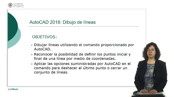 AutoCAD 2018: Dibujo de líneas