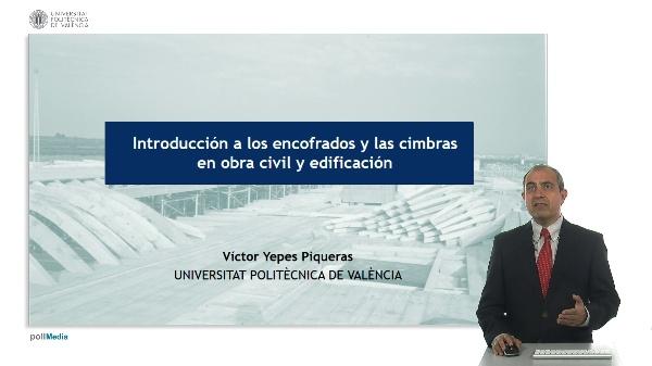 Introducción a los encofrados y las cimbras en obra civil y edificación. Video promocional