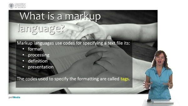 Web Technologies and Development: Markup Languages