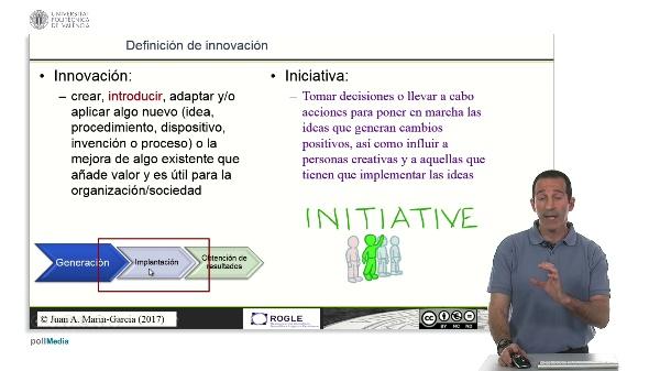 La competencia de iniciativa y su relación con la innovación.