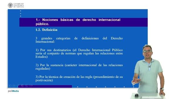 Unidad didáctica 7. Derecho internacional público