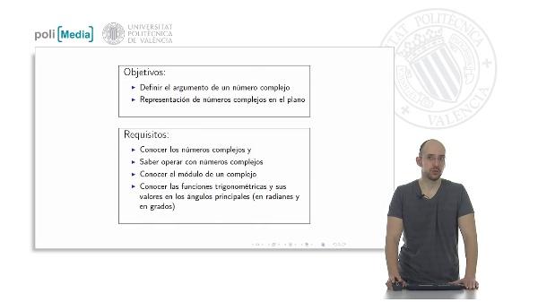 Números Complejos: Argumento y Representación