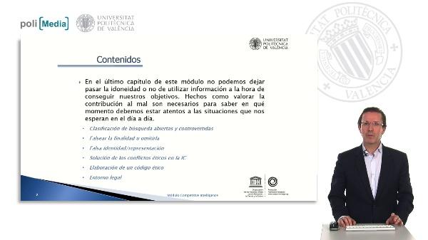 Ética e Inteligencia Competitiva