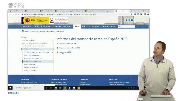 Ejercicio tráfico aeropuertos españoles 1