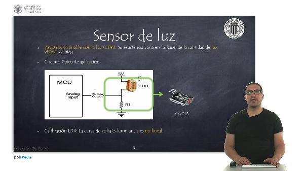 Electrónica. Sensores en aplicaciones de IoT.